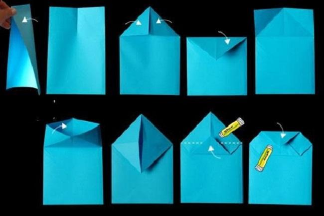 hướng dẫn làm túi giấy