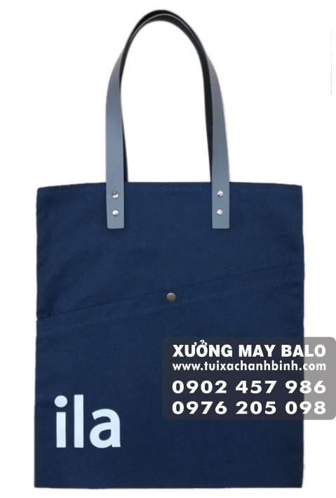 mẫu túi của xưởng sản xuất túi vải canvas