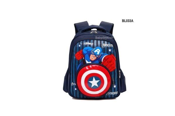 balo trẻ em siêu nhẹ in hình siêu anh hùng