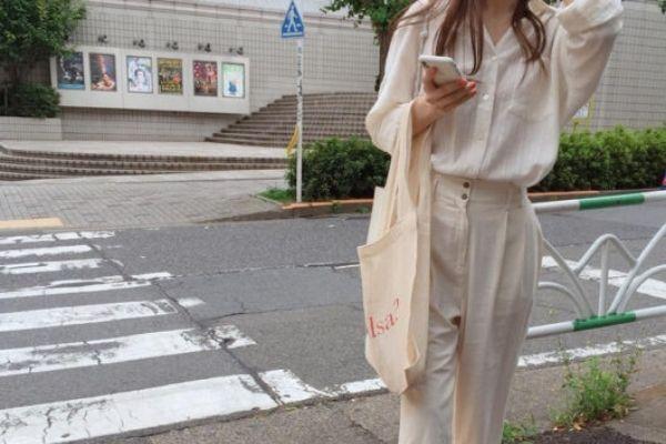 túi vải canvas phong cách Hàn Quốc phong cách lịch sự