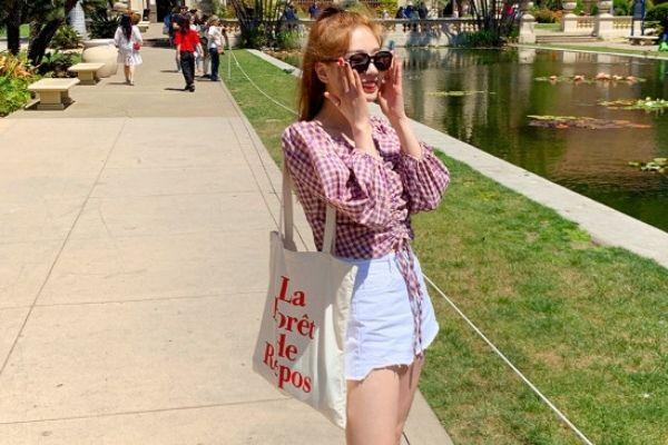 túi vải canvas phong cách Hàn Quốc phong cách năng động